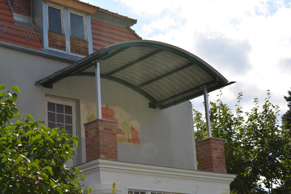 Überdachung Balkon