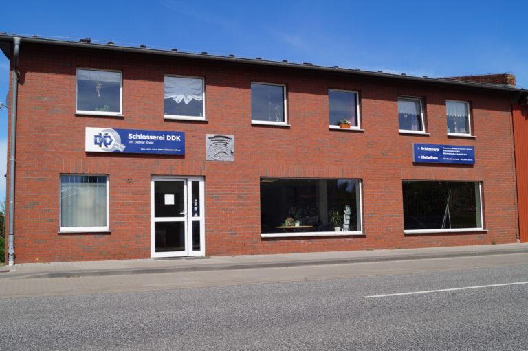 Schlosserei & Metallbau DDK Havelberg - Eingang